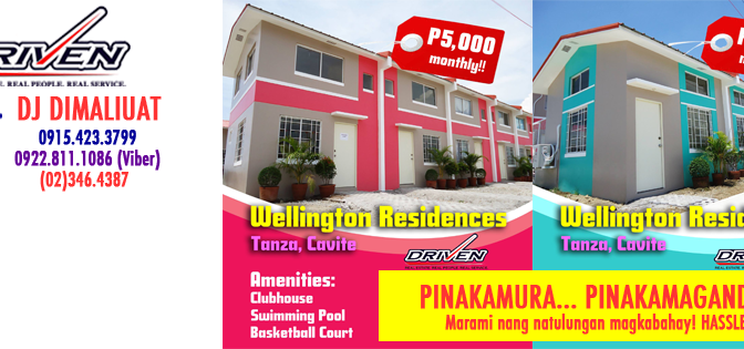 Wellington Residences back to Pag-IBIG Financing Housing Option